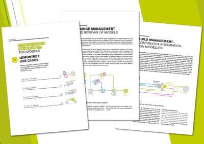 """Broschüren-Design """"Lieberlieber Software GmbH"""""""