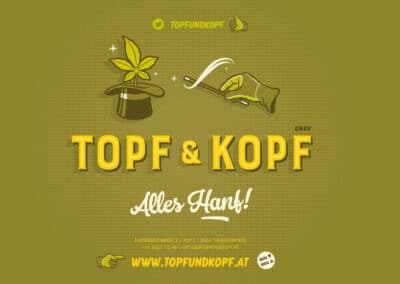 "Corporate Design und Illustrationen ""Topf & Kopf"""